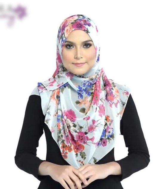 لفات حجاب كبيرة عصرية
