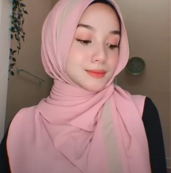 لفة حجاب للوجه الممتليء