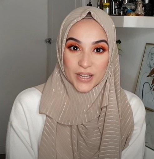 لفة حجاب طويلة