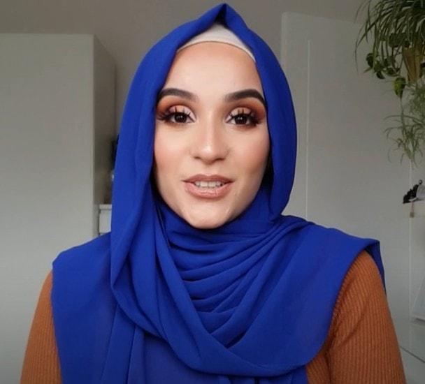 أجمل لفات حجاب طويلة