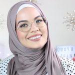 لفة حجاب بالنظارات 1