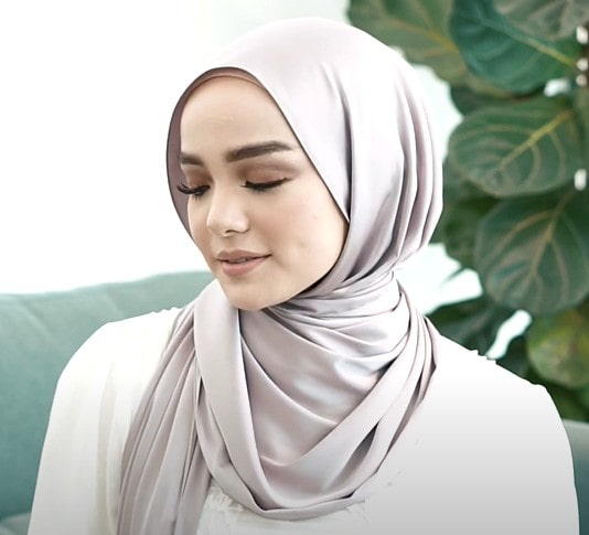 اجمل لفات حجاب بالخطوات