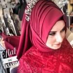 حجاب تركي - طريقة لفة طرحة الفرح