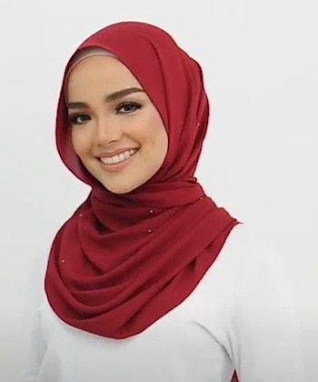 لفات حجاب انيقة بالخطوات