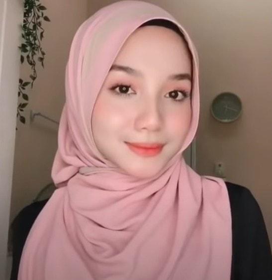 ربطة حجاب سهلة وجميلة
