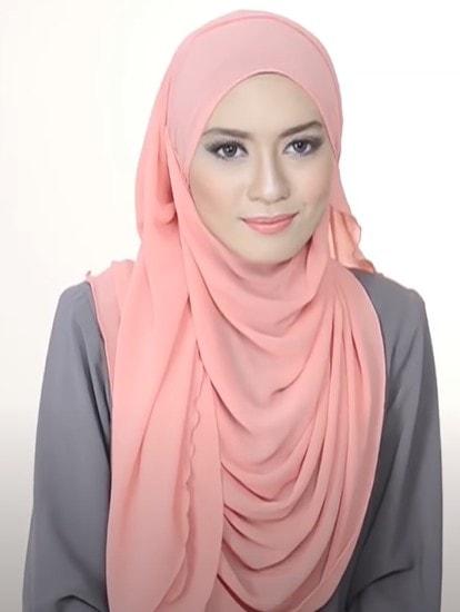 لفات حجاب بالطرح الطويلة