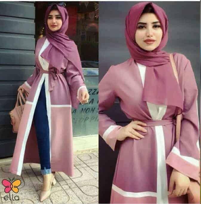 stylish Abaya hijab