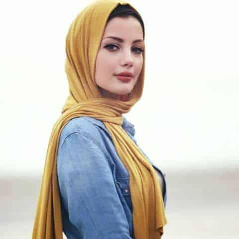 اختيار لفات حجاب حسب شكل الوجه