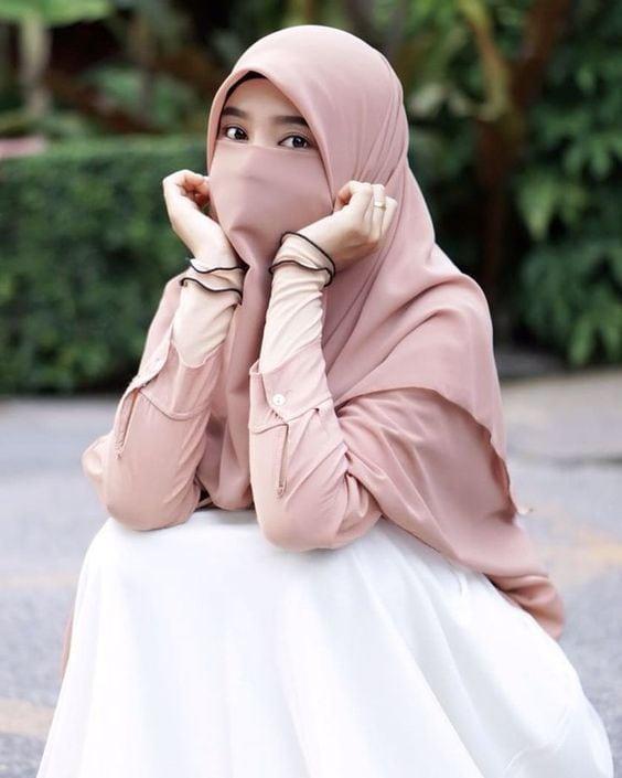 ملابس منقبات، نقاب