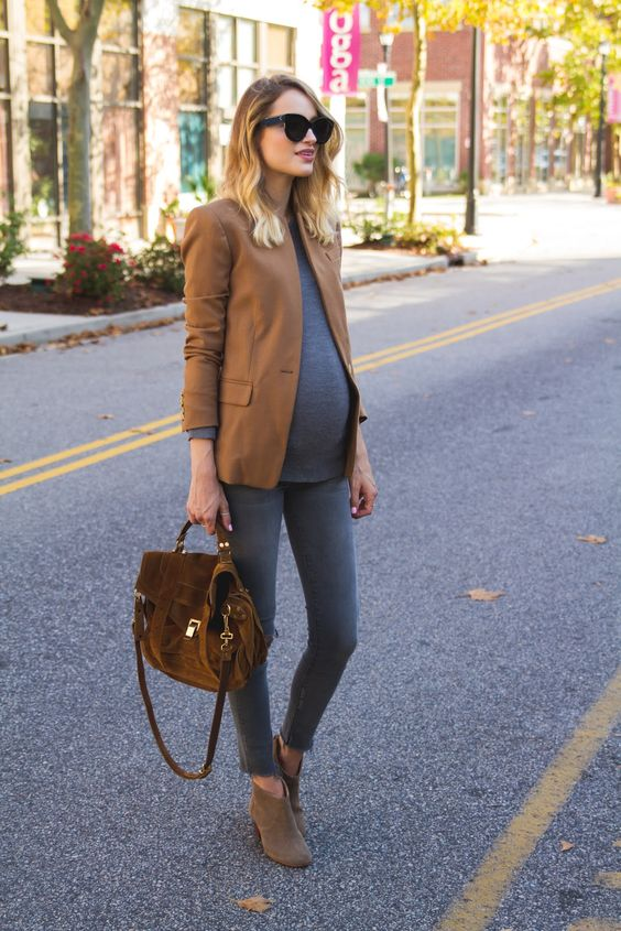 ملابس الحمل المناسبة للمرأة النحيفة