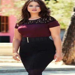 الملابس المناسبة لصاحبات الوزن الزائد