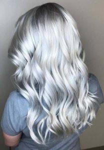 صبغة الشعر الفضي
