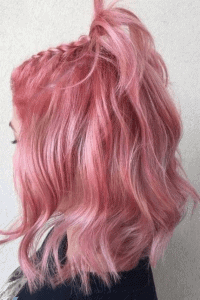 صبغ شعر وردي فاتح