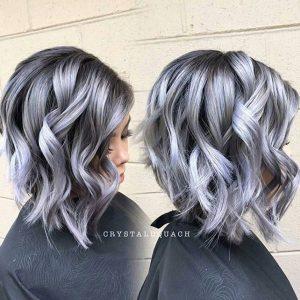 ما هي موضة ألوان صبغات اللون الفضي