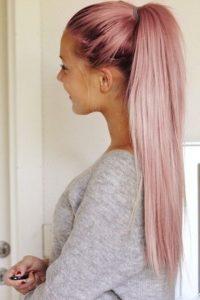 صبغ الشعر وردي